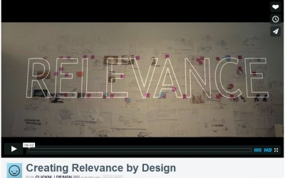 Fillm: Creating Relevance by Design