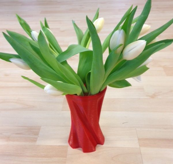 3D Print file: Twisted Sister Vase